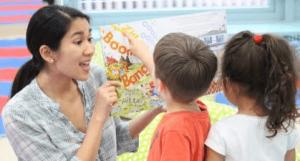 Kindermusik Educators have fun in their early childhood programs