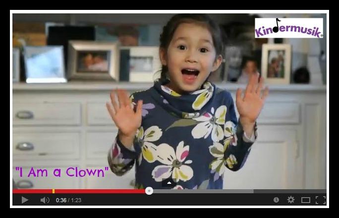 I am a clown video