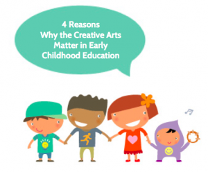 4 reasons why Creative Arts Matter in Early Childhood Education