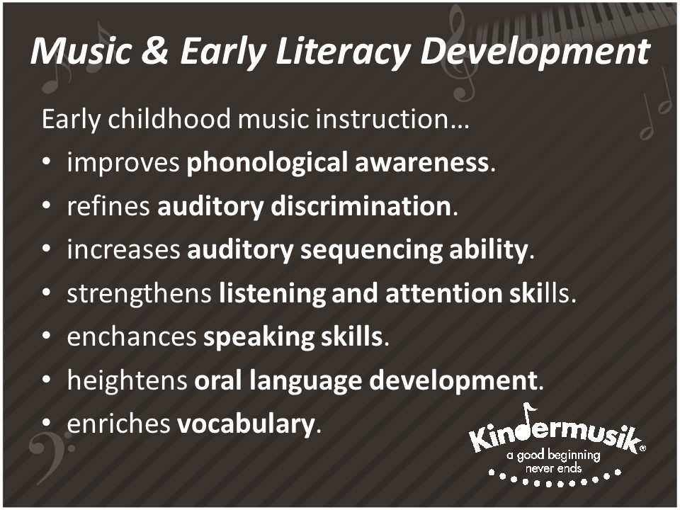 7 Surprising Facts About Music And Early Literacy Development My