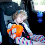 asleep carseat