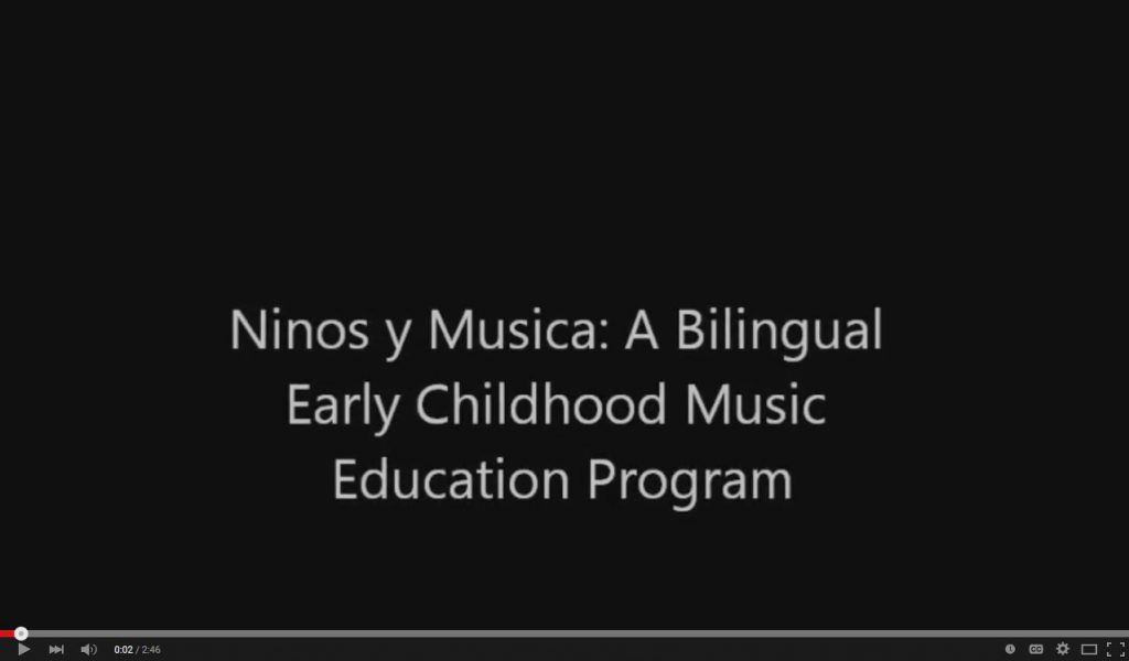 Bilingual Early Childhood Music Education Program