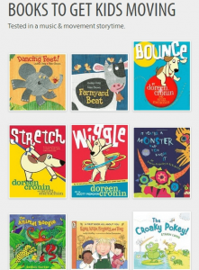 Books to Get Kids Moving
