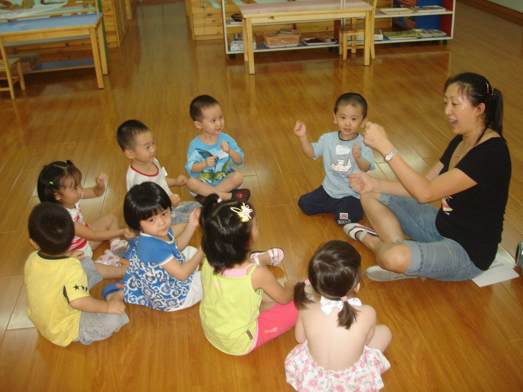 Kindermusik Class in China