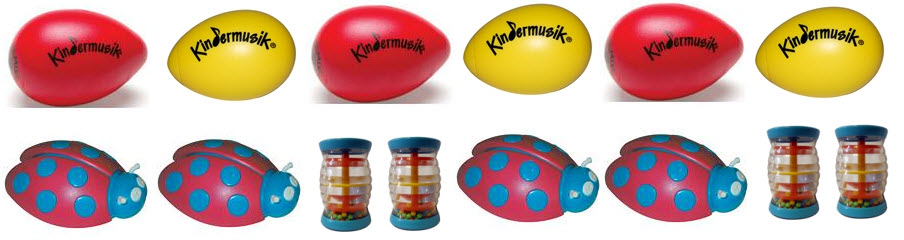 Kindermusik - Learning About Patterns with Kids Instruments
