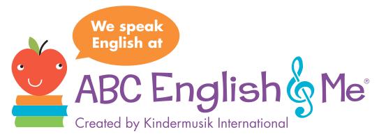 ABC English & Me - Teaching English to Children through Music
