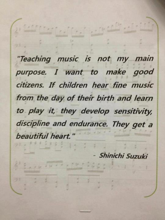 Why We Teach Music