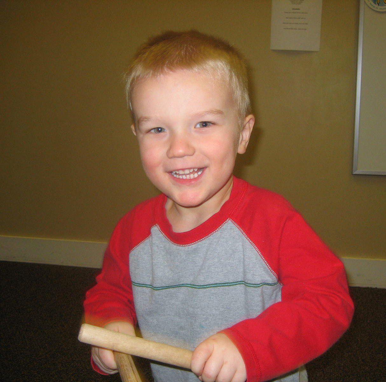 Musical learning at Kindermusik & at home