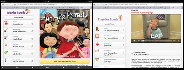 Kindermusik Songs & Learning Activities on iPad