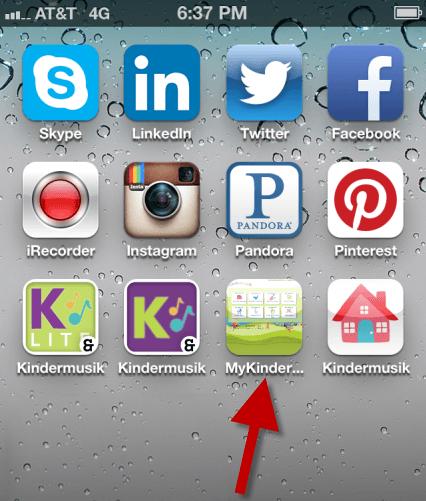 My.Kindermusik.com shortcut icon