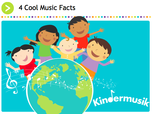 4 Cool Music Facts Kindermusik