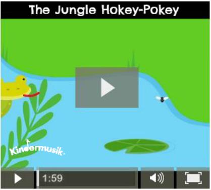The Jungle Hokey-Pokey