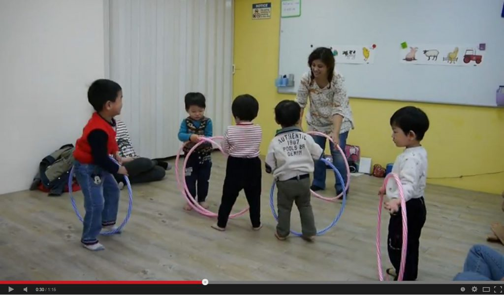 hoop play teaches spatial awareness
