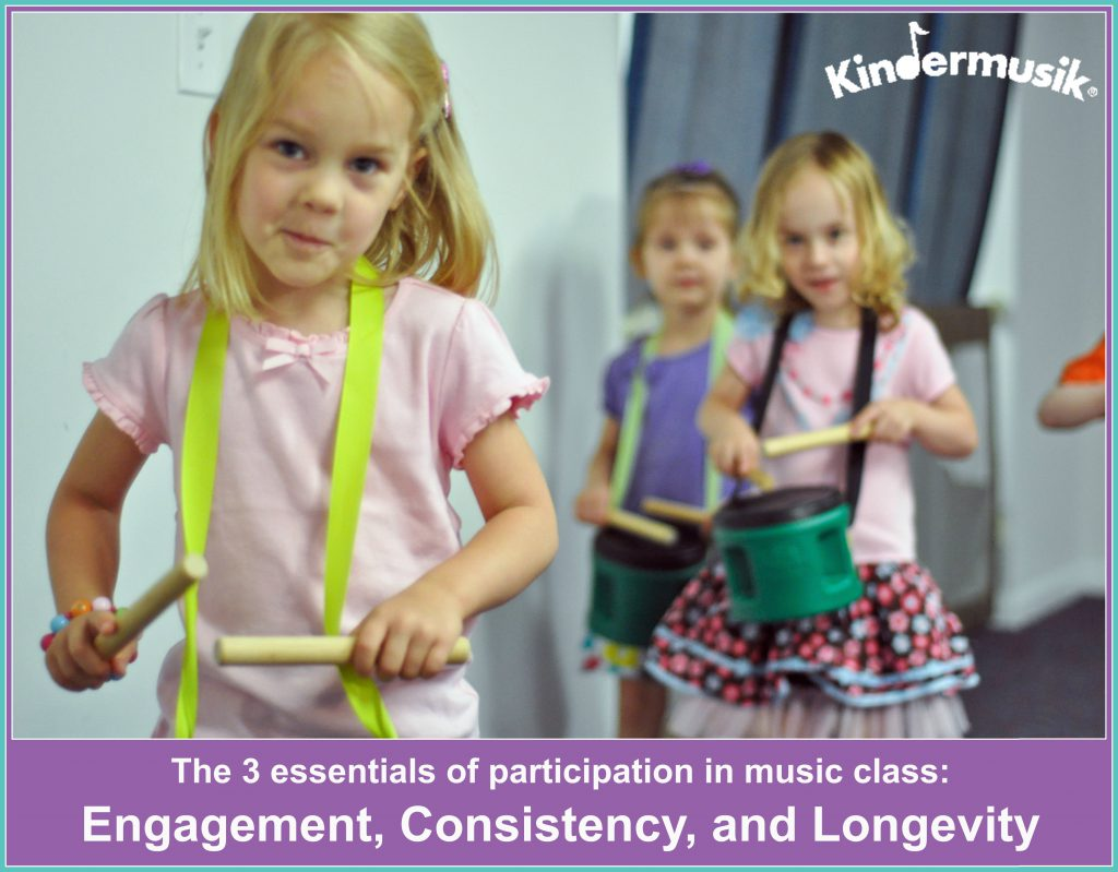 three essentials of participation in a music class