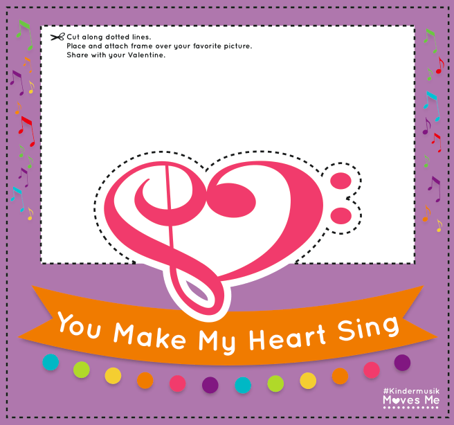 Printable Valentine S Day Picture Frame