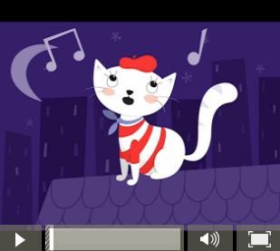 Scat Cat Kindermusik@Home activity