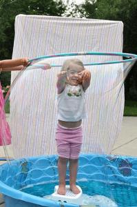 Hula Hoop Bubbles