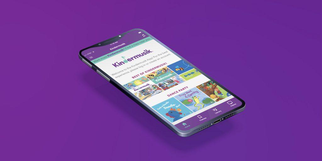 The Kindermusik Music App