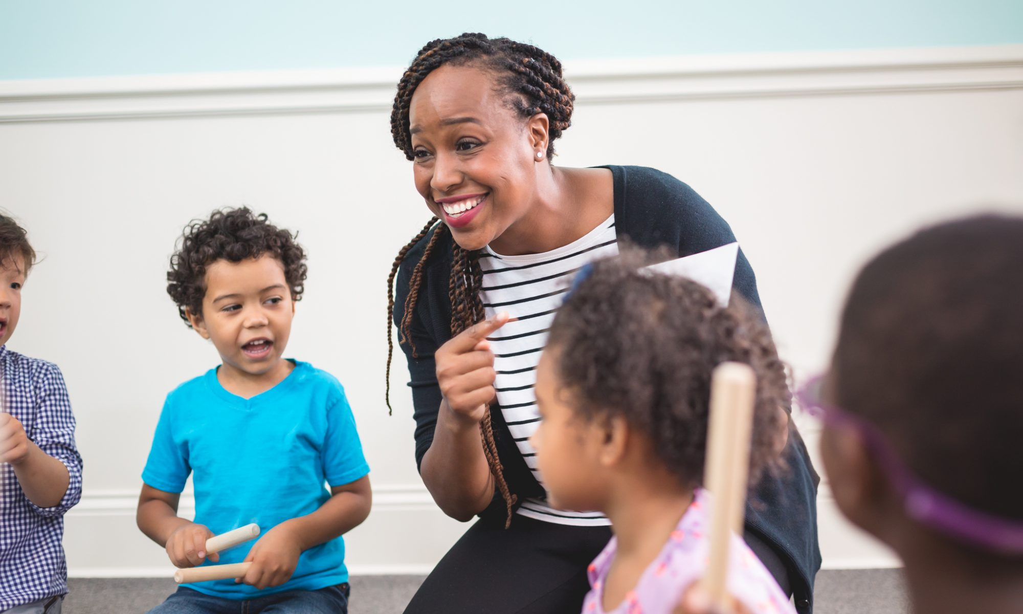 Whether you're a children's music teacher, parent, or a different type of practitioner, Kindermusik's Training Program can help you tap the power of music to boost major early childhood development milestones.