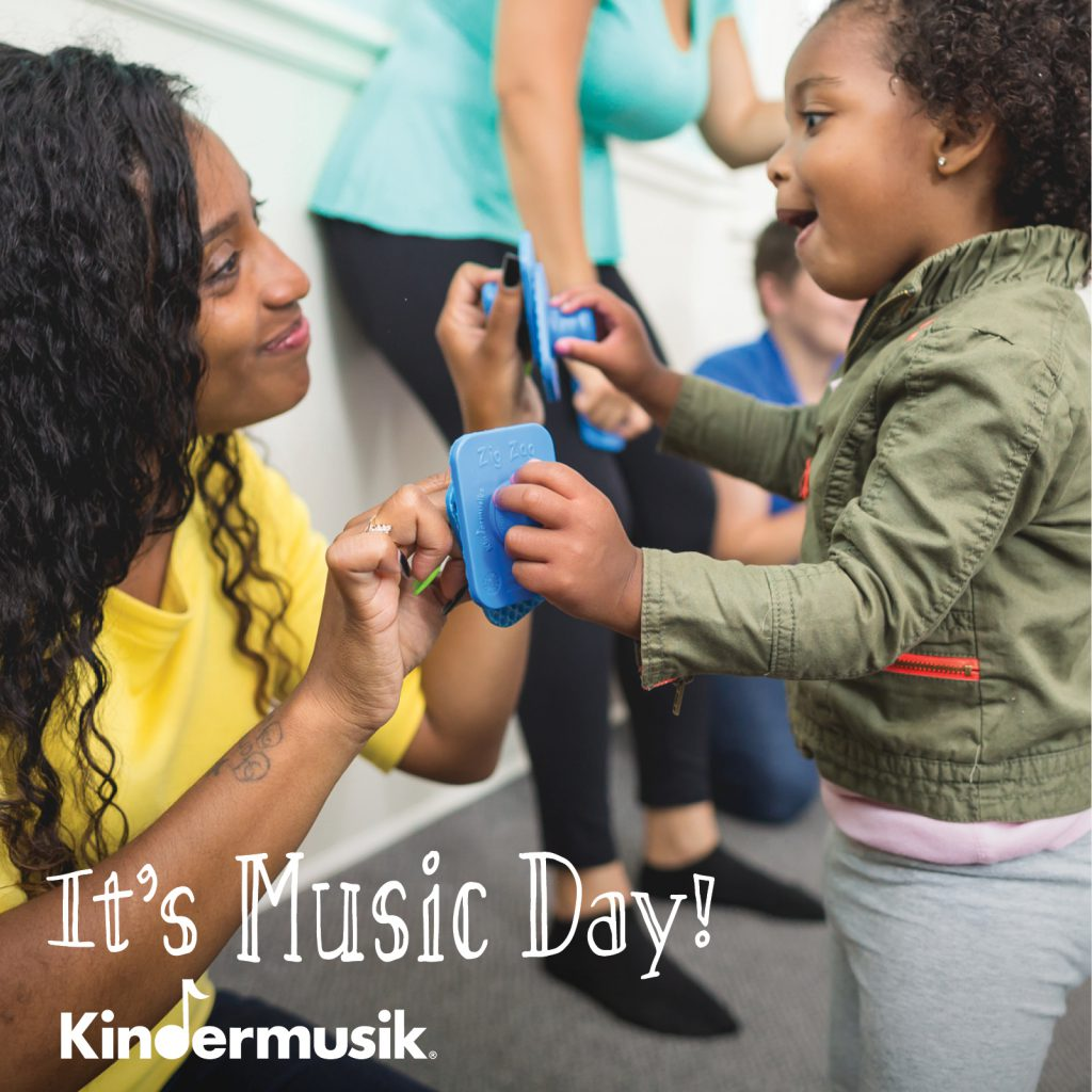 It's Music Day at Kindermusik