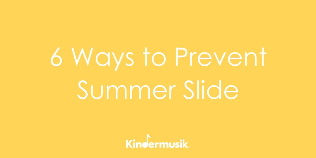 6 Ways to Prevent Summer Slide