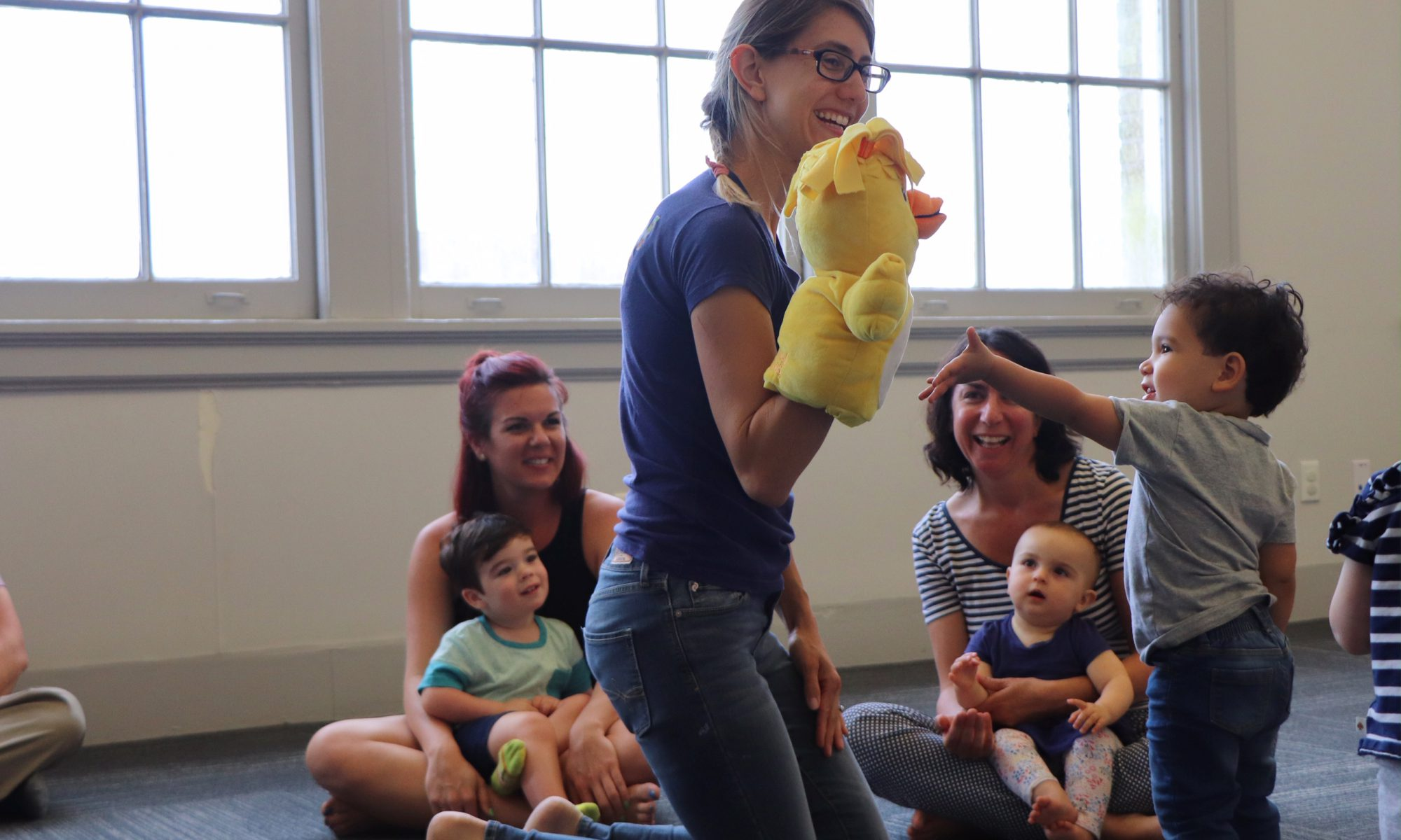 New Orleans Kindermusik Educator, Madeline Thibodeax, uses puppetry to talk about BIG emotions!