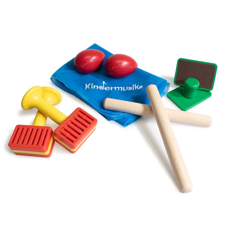Thinking about toddler music lessons? Start with our toddler music kit! These age-appropriate instruments help pave the way toward learning that lasts and a love of music.